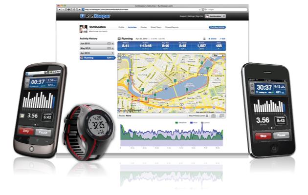 Aplikasi Tracking 'RunKeeper'